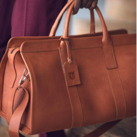 Detail Africa Tourman Handcrafted Leather Travel Bag